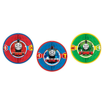Thomas Hanging Honeycomb Decorations (3 Count)