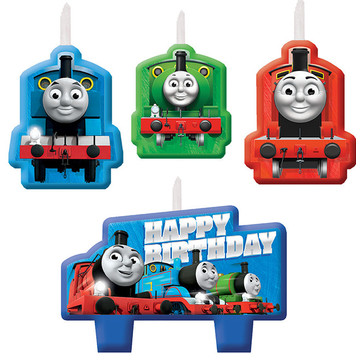 Thomas the Tank Engine Birthday Candles (4)