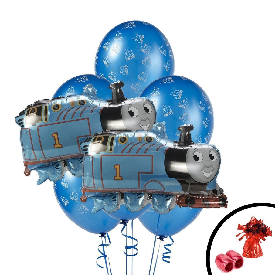 View larger image of Thomas the Train Jumbo Balloon Bouquet