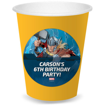 Thor Personalized Cups (8)