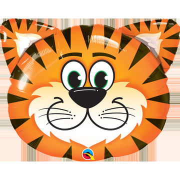 "Tickled Tiger 30"" Foil Balloon"