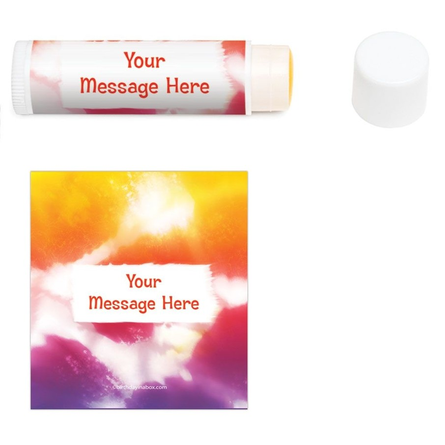 View larger image of Tie Dye Fun Personalized Lip Balm (12 Pack)