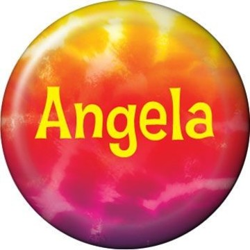 Tie Dye Fun Personalized Mini Magnet (each)