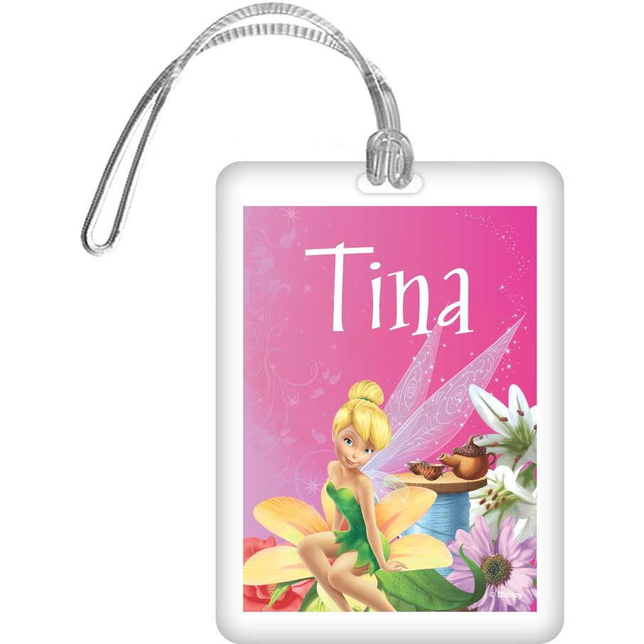 View larger image of Tinkerbell Personalized Bag Tag (Each)