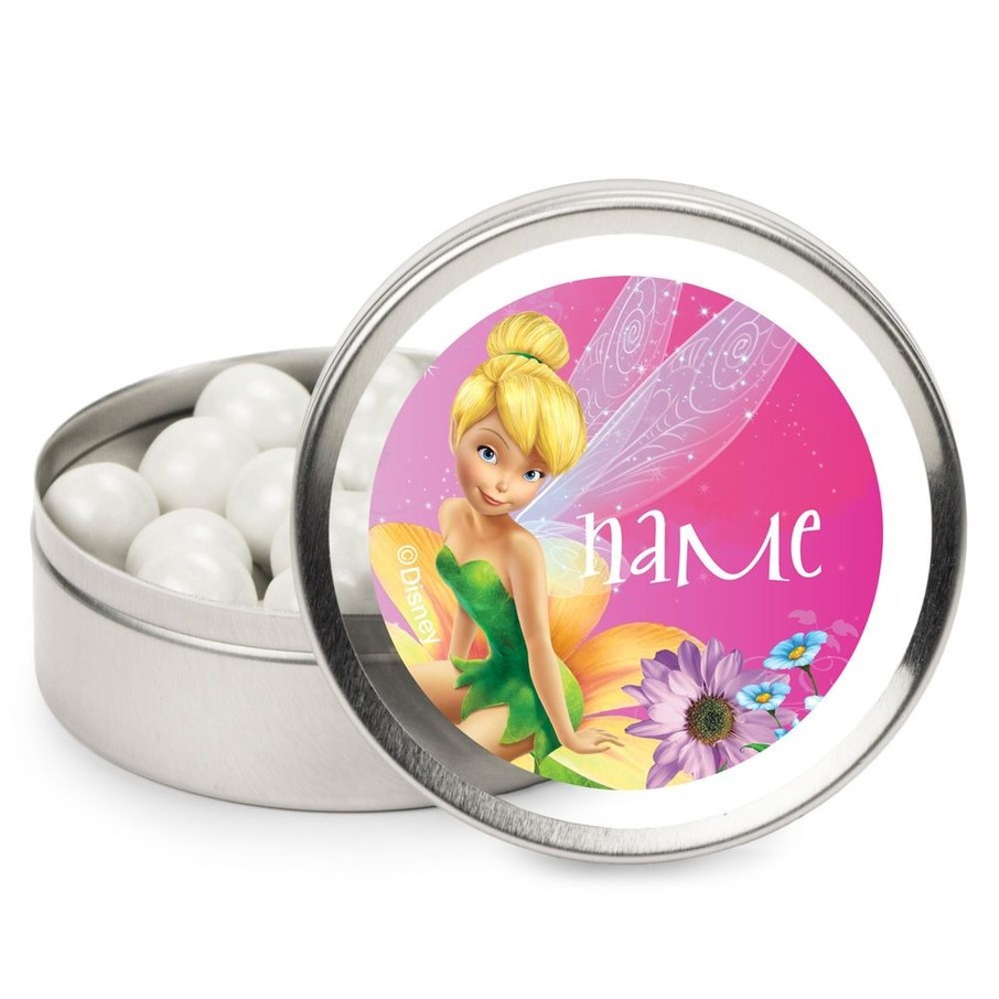View larger image of Tinkerbell Personalized Candy Tins (12 Pack)
