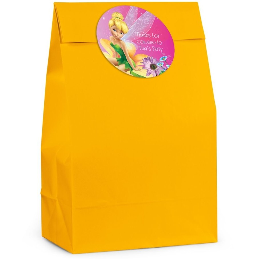View larger image of Tinkerbell Personalized Favor Bags (12 Pack)