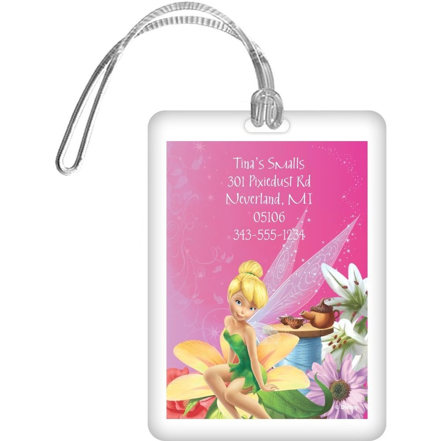View larger image of Tinkerbell Personalized Luggage Tag (Each)