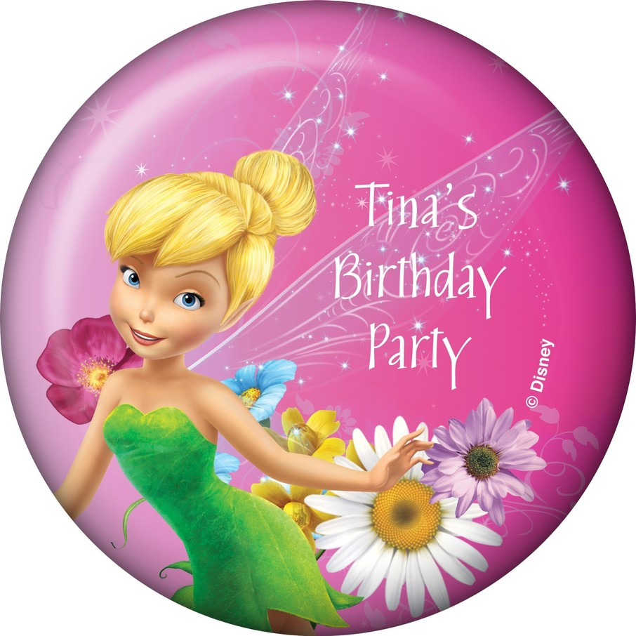 View larger image of Tinkerbell Personalized Magnet (Each)