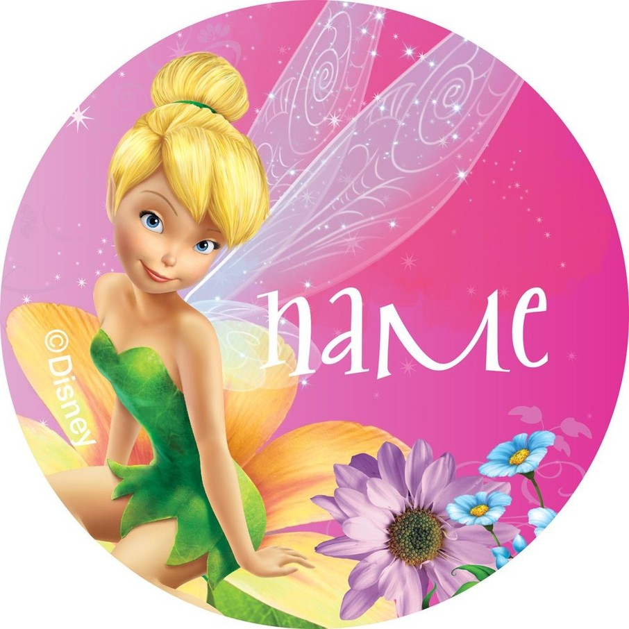 View larger image of Tinkerbell Personalized Mini Stickers (Sheet of 24)