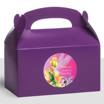 Tinkerbell Personalized Treat Favor Boxes (12 Count)