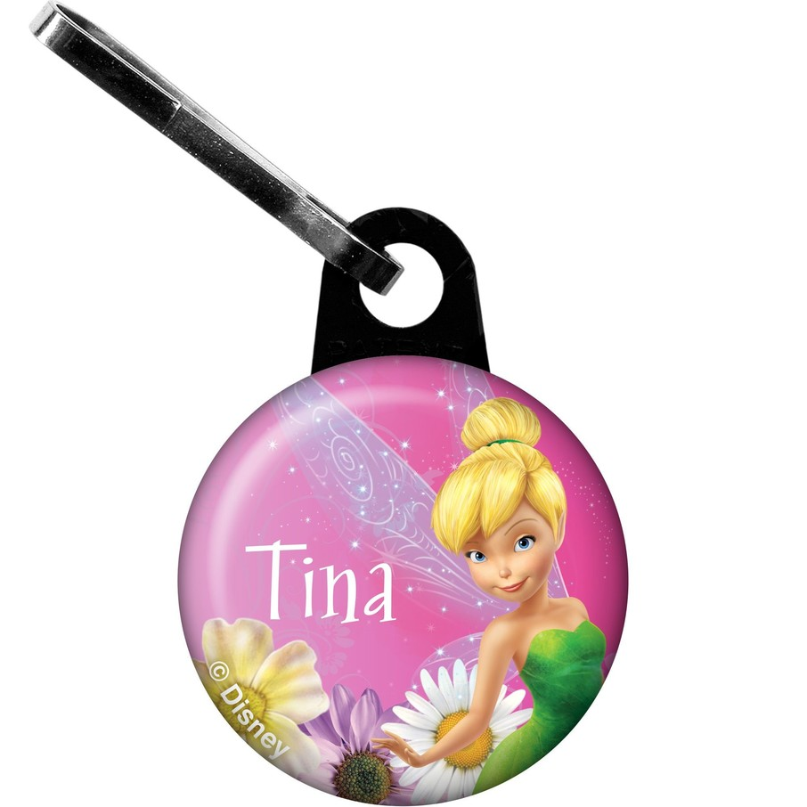 View larger image of Tinkerbell Personalized Zipper Pull (Each)