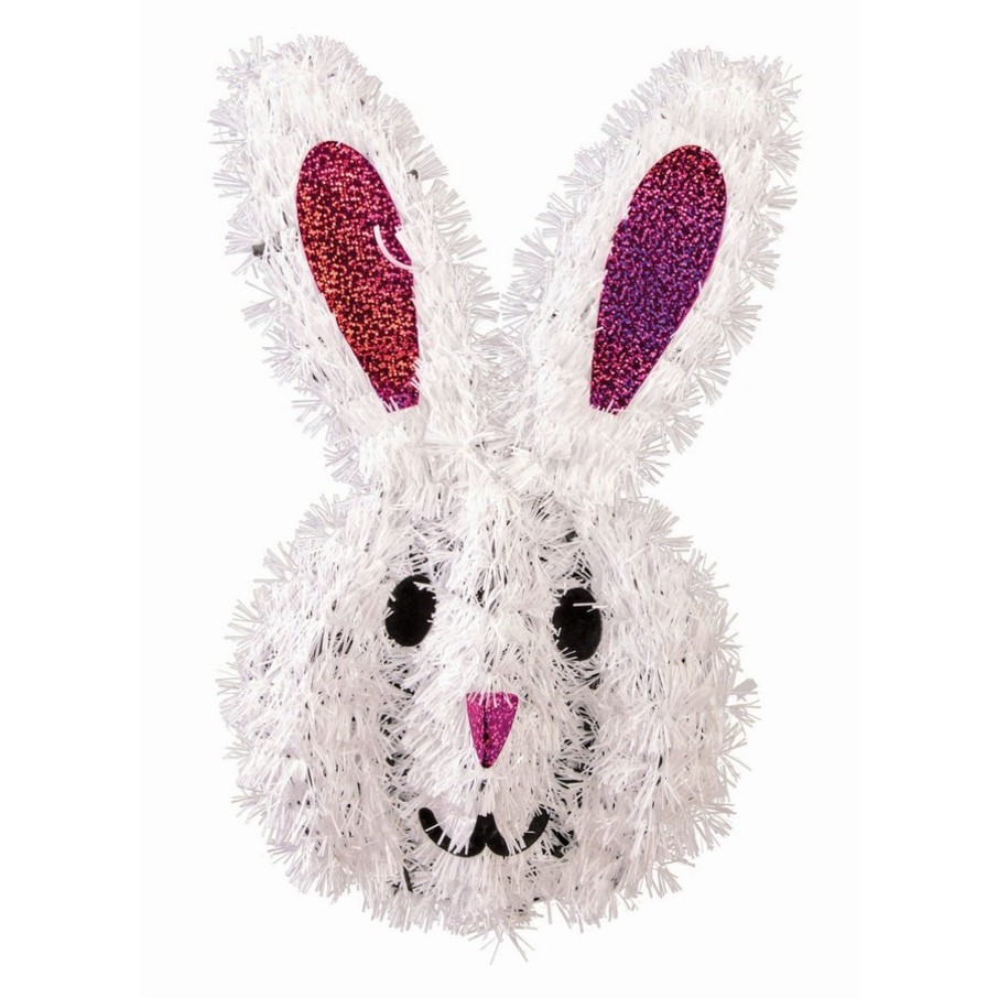 View larger image of Tinsel Bunny Decoration