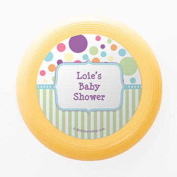 Tiny Bundle Blue Personalized Mini Discs (Set of 12)