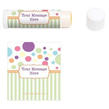 Tiny Bundle Personalized Lip Balm (12 Pack)
