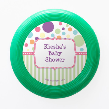 Tiny Bundle Pink Personalized Mini Discs (Set of 12)