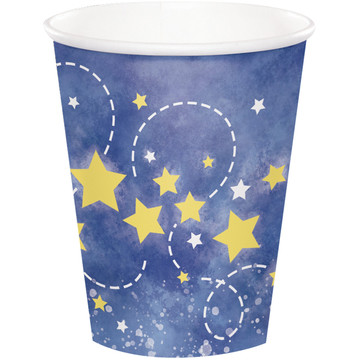 To the Moon Back 9oz Paper Cups (8)