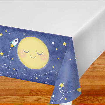 To the Moon Back Tablecover