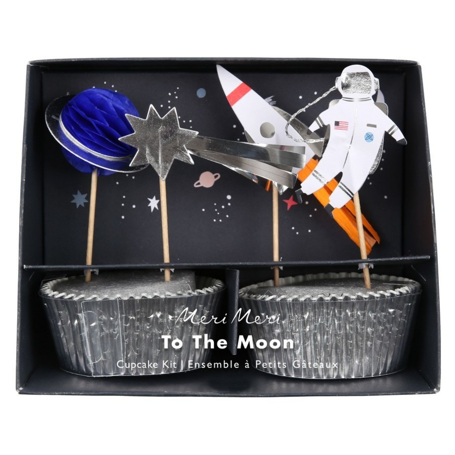 View larger image of To The Moon Cupcake Kit, 24ct