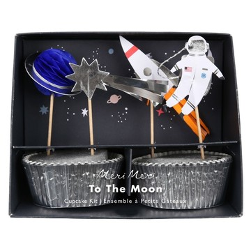To The Moon Cupcake Kit, 24ct