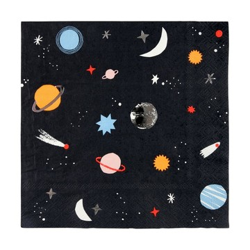 To The Moon Lunch Napkins, 16ct