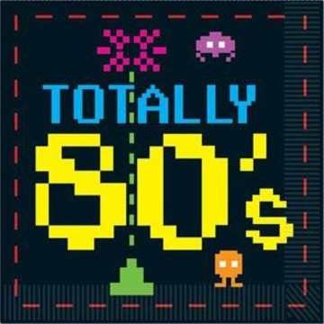 Totally 80's Luncheon Napkins (16 Pack)