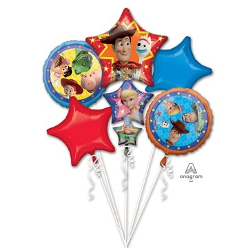 Toy Story 4 Foil Balloon Bouquet