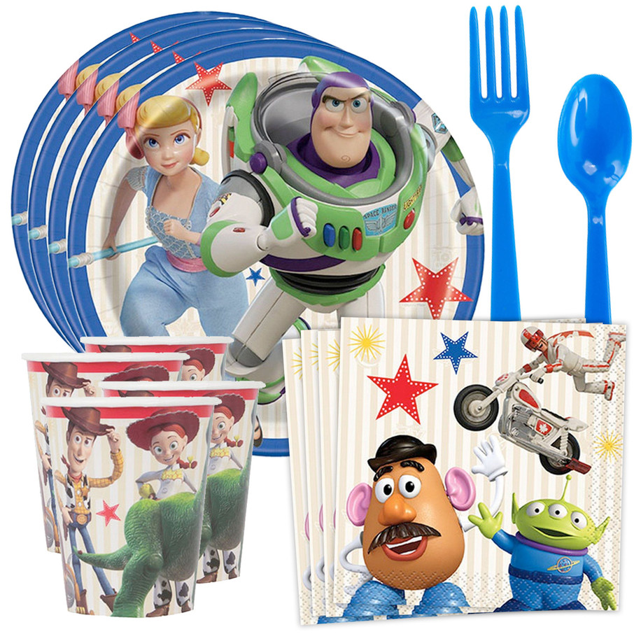 View larger image of Toy Story 4 Tableware Kit (Serves 8)