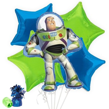 Toy Story Buzz Lightyear Balloon Bouquet
