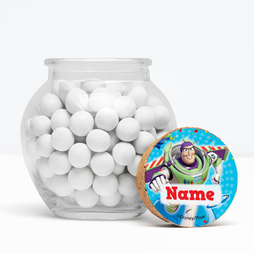 """Toy Story Personalized 3"""" Glass Sphere Jars (Set of 12)"""