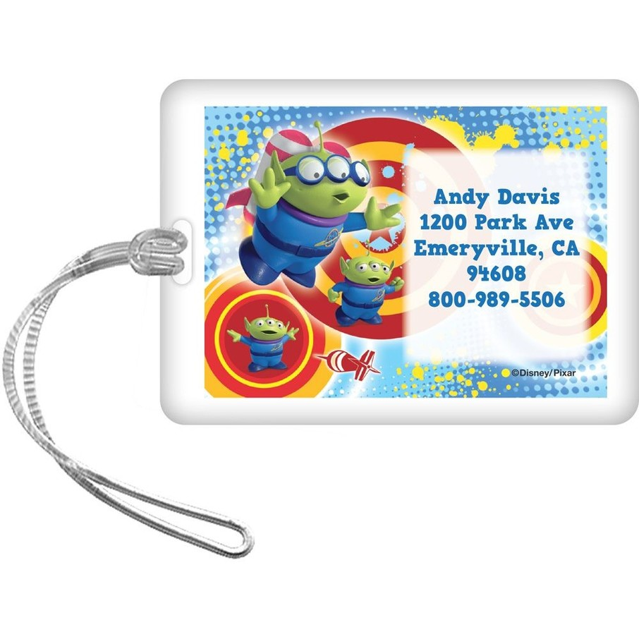 View larger image of Toy Story Personalized Luggage Tag (Each)