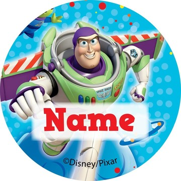 Toy Story Personalized Mini Stickers (Sheet of 24)