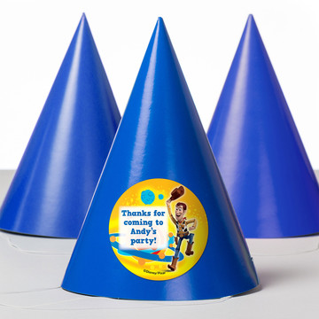 Toy Story Personalized Party Hats (8 Count)