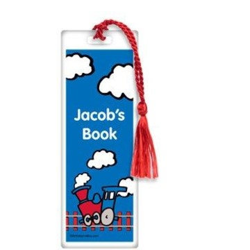 Train Party Personalized Bookmark (each)