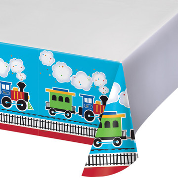Train Plastic Tablecover (1)