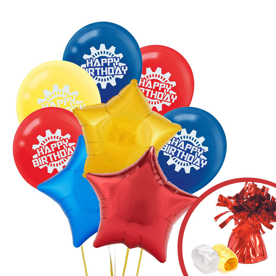 View larger image of Transformers Balloon Bouquet Kit