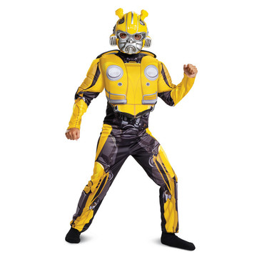 Transformers Bumblebee Movie Bumblebee Classic Muscle Child Costume