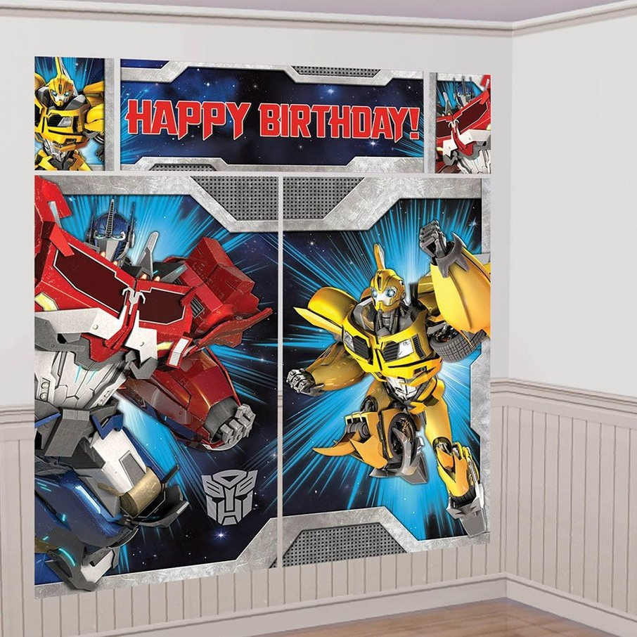 View larger image of Transformers Scene Setter Wall Decorating Kit (Each)
