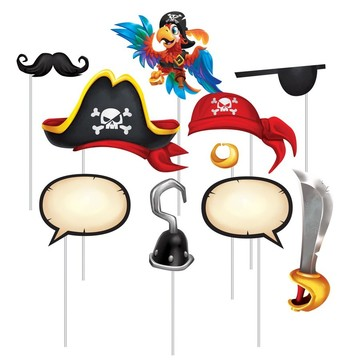 Treasure Island Pirate Photo Booth Props (10)