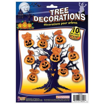 Tree Decorations Pumpkin (10pcs)