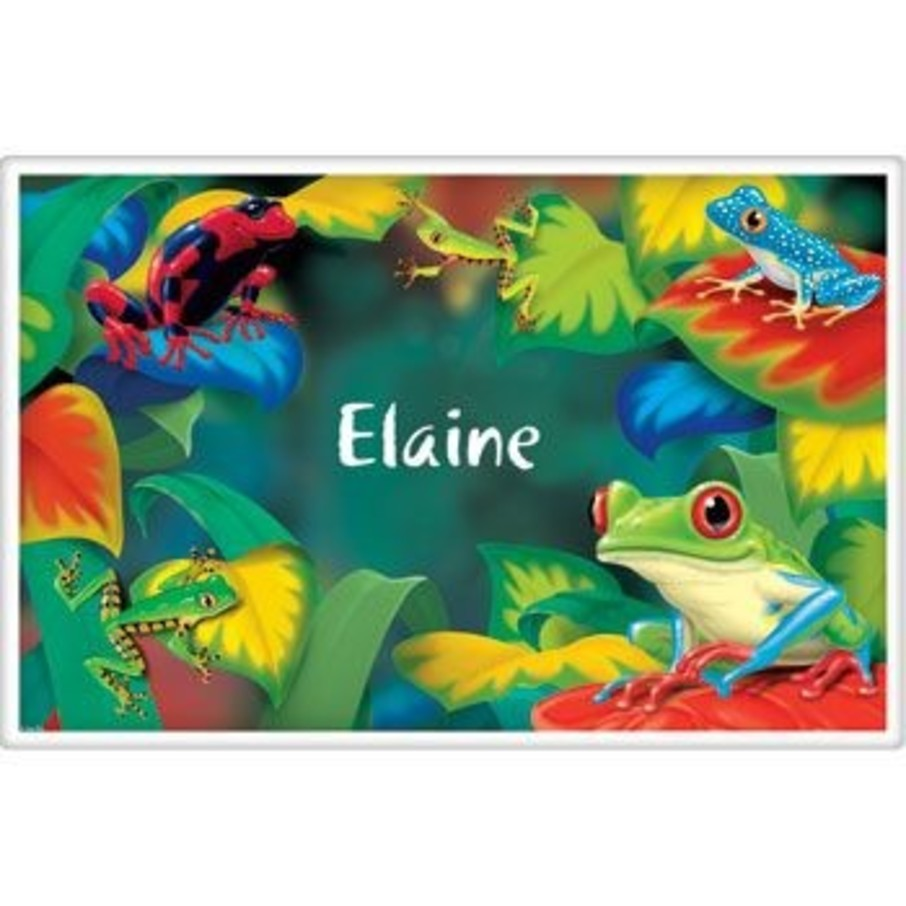 View larger image of Tree Frog Personalized Placemat (each)