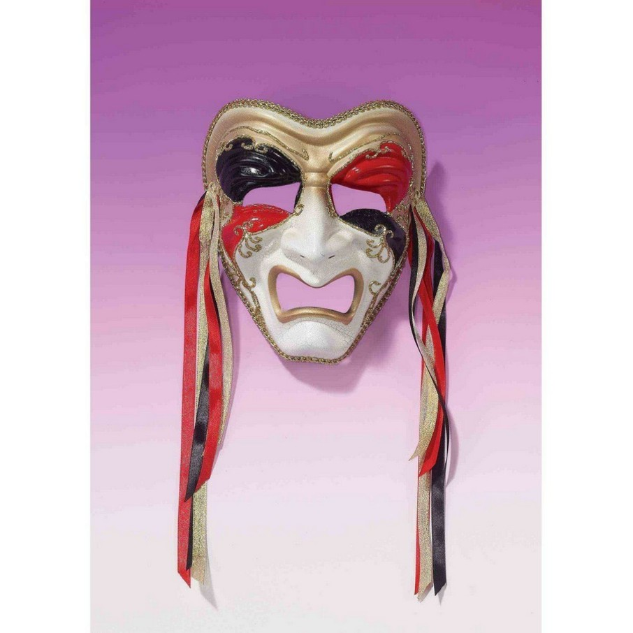View larger image of Tri Color Tragedy Mask