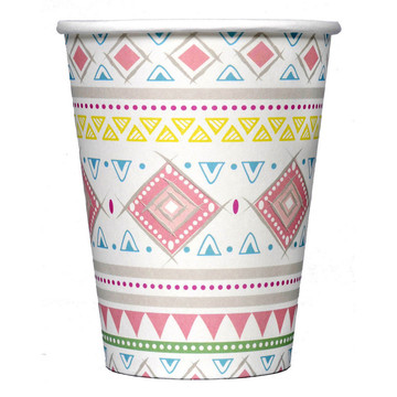 Tribal Girl Party Cups (8)