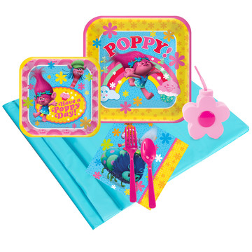 Trolls 16 pc Guest Pack Plus Molded Cups