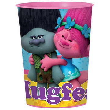 Trolls 16oz Plastic Favor Cup (Each)