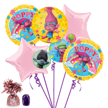 Trolls Balloon Bouquet Kit