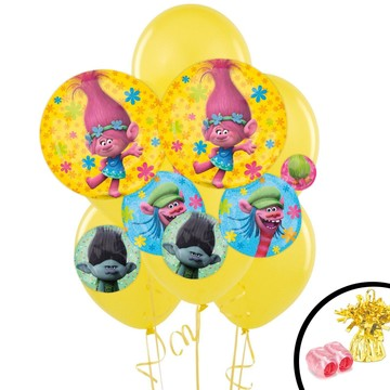 Trolls Jumbo Balloon Bouquet