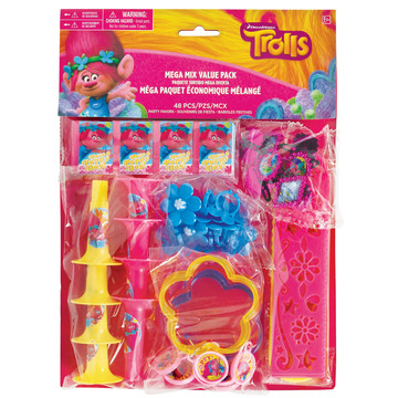 Trolls Mega Favor Pack (48 Pieces)