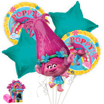 Trolls Poppy Balloon Bouquet Kit
