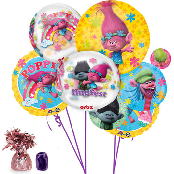 Trolls Ultimate Balloon Bouquet Kit