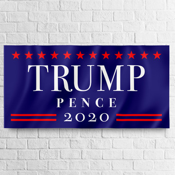 TRUMP PENCE 2020 Giant Banner 30x60 (Each)